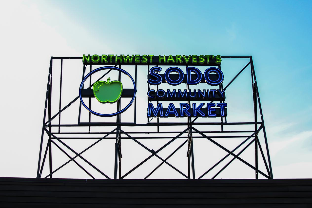 NW Harvest's SODO Community Market
